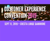 Customer Experience Convention 2019